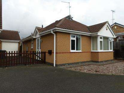 2 Bedrooms Bungalow for sale in Chichester Close, Ellistown, Coalville