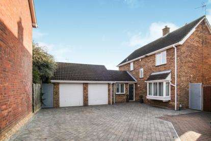 4 Bedrooms Detached House for sale in Willenhall Close, Luton, Bedfordshire
