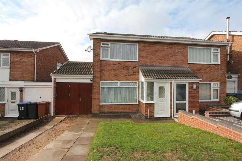 3 Bedrooms Semi Detached House for sale in Dunblane Way, Hinckley