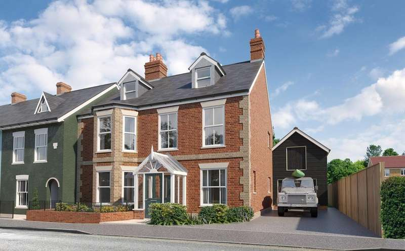 5 Bedrooms Semi Detached House for sale in Western Road, Lymington, SO41