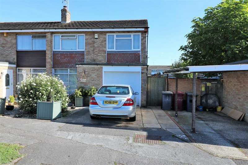 3 Bedrooms Semi Detached House for sale in Wynford Close, Reading