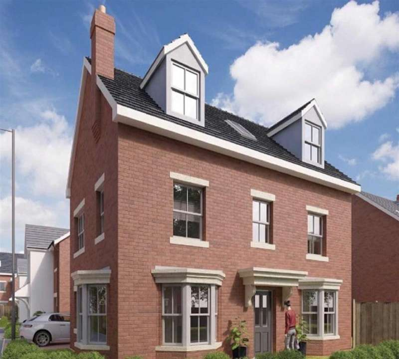5 Bedrooms Detached House for sale in The Charlwood, The Pavilions, Gresford