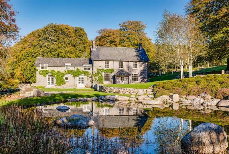 5 Bedrooms Detached House for sale in Dartmoor National Park, Nr North Bovey, Devon, TQ13