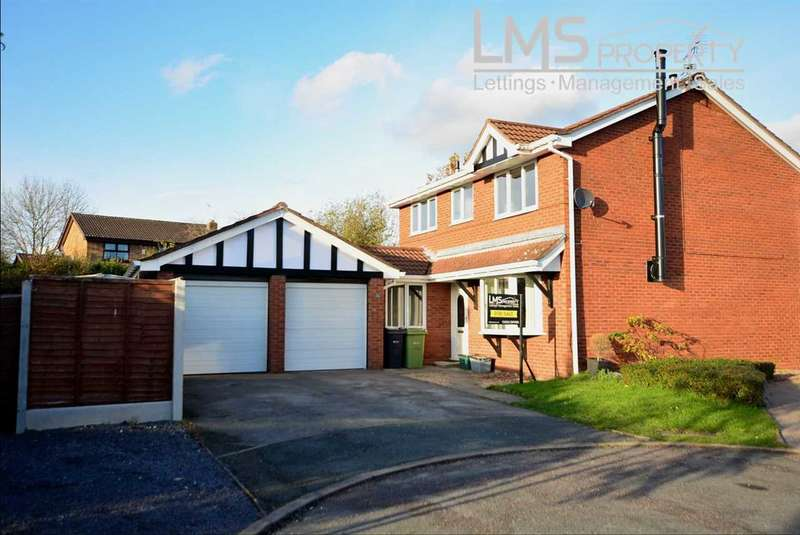 4 Bedrooms Detached House for sale in Bramble Close, Winsford