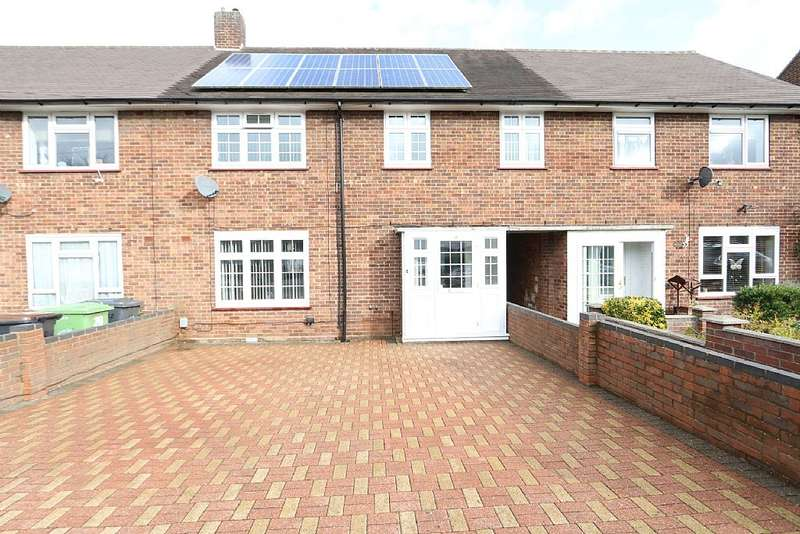 4 Bedrooms Terraced House for sale in Castle Croft Road, Luton, Bedfordshire, LU1 5RJ