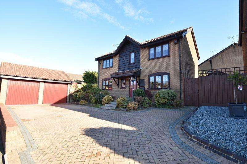 4 Bedrooms Detached House for sale in Ryefield, Luton