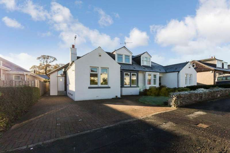 5 Bedrooms Semi Detached Bungalow for sale in 63 Craigleith Hill Gardens, Craigleith, Edinburgh, EH4 2JB