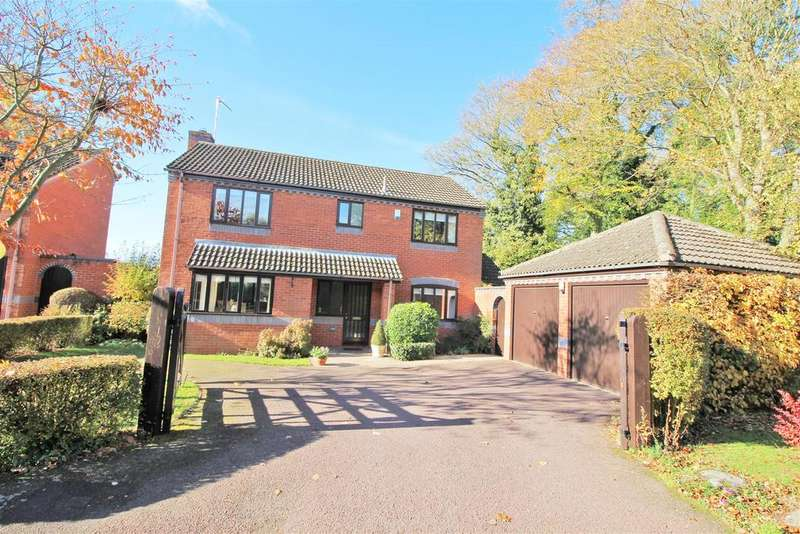 4 Bedrooms Detached House for sale in Milestone Drive, Rugby