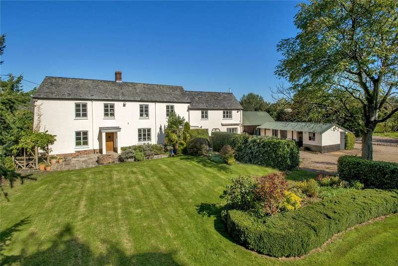 5 Bedrooms Detached House for sale in Ash Thomas, Tiverton, Devon