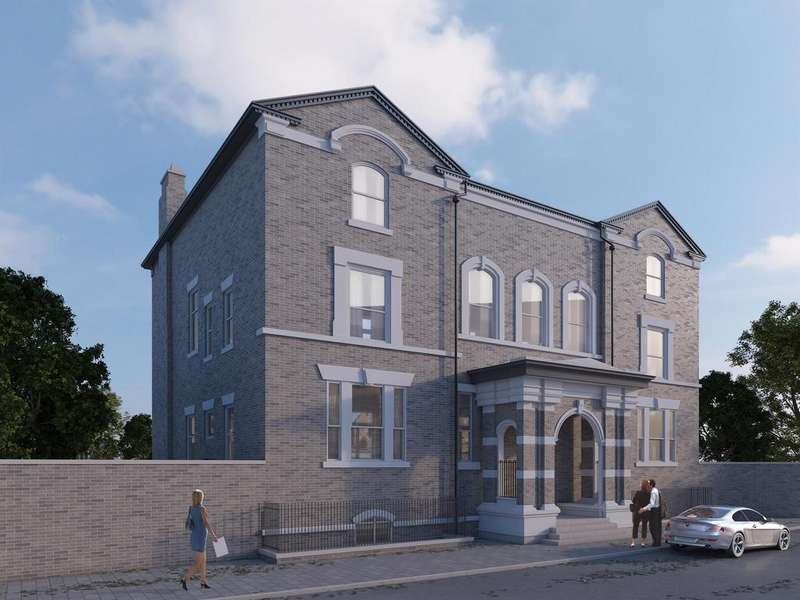 2 Bedrooms Flat for sale in Windermere Terrace, Liverpool, L8 3SB