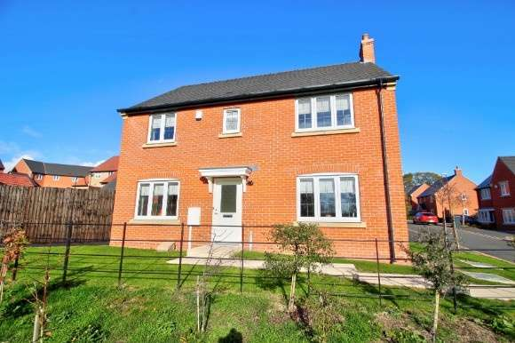 4 Bedrooms Detached House for sale in 16 Meadow Drive, Smalley
