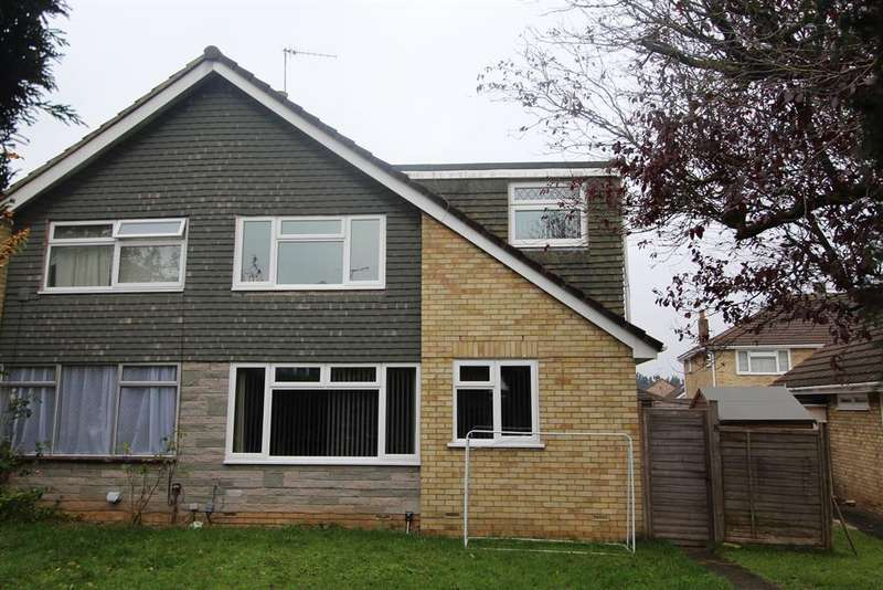4 Bedrooms Semi Detached House for sale in Drayton Close, Whitchurch, Bristol, BS14 9AY