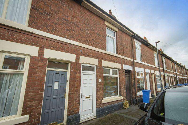 2 Bedrooms Terraced House for sale in Roman Road, Derby