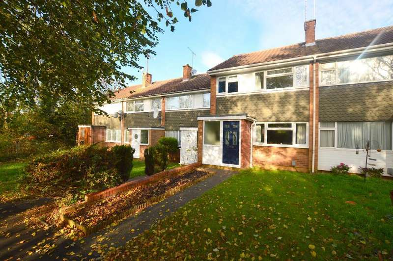 3 Bedrooms Terraced House for sale in Boxted Close, Luton, Bedfordshire, LU4 9HN