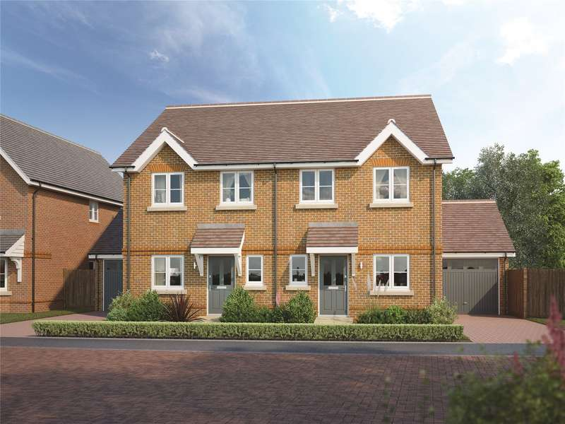 3 Bedrooms Semi Detached House for sale in Oaks Meadow, West End, Woking, Surrey, GU24