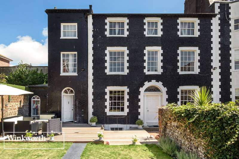 3 Bedrooms End Of Terrace House for sale in St James's Place, Brighton, East Sussex, BN2