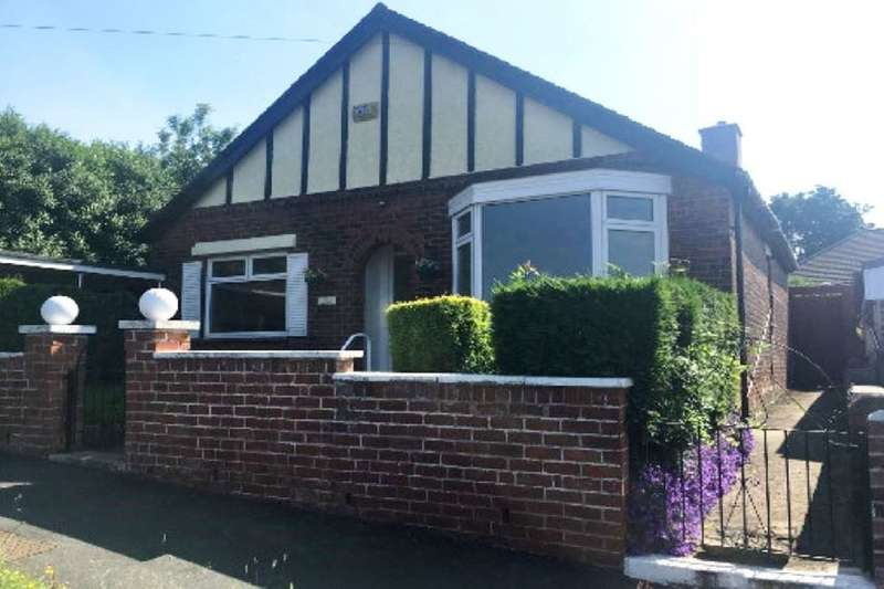2 Bedrooms Detached Bungalow for sale in 186 Cliffefield Road, Sheffield, South Yorkshire