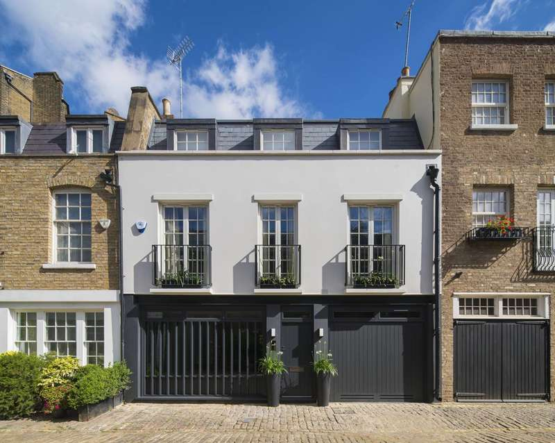 4 Bedrooms Mews House for sale in Hyde Park Gardens Mews, Hyde Park Estate, W2