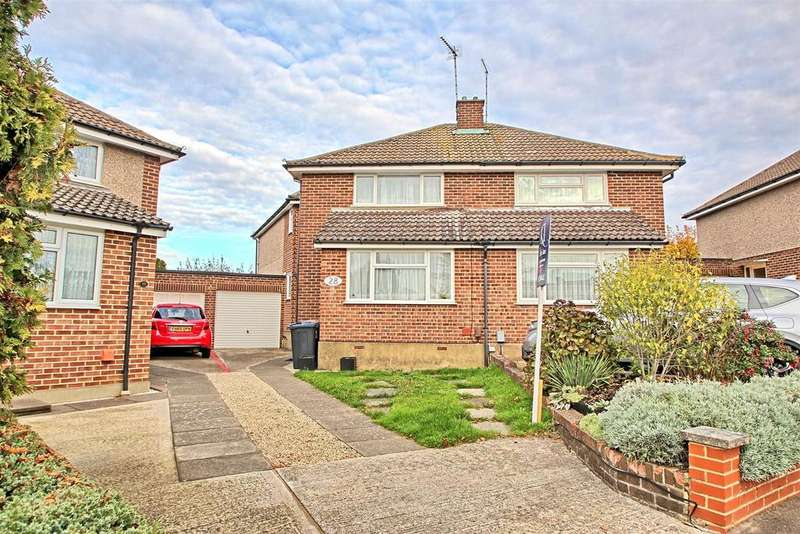 3 Bedrooms Semi Detached House for sale in CHAIN FREE FAMILY HOME WITH LARGE PLOT