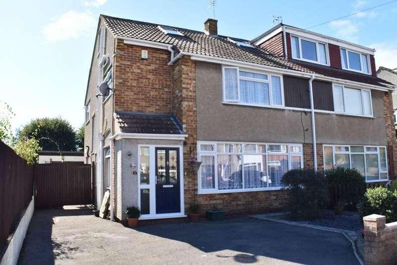 4 Bedrooms Semi Detached House for sale in Pendock Road, Winterbourne
