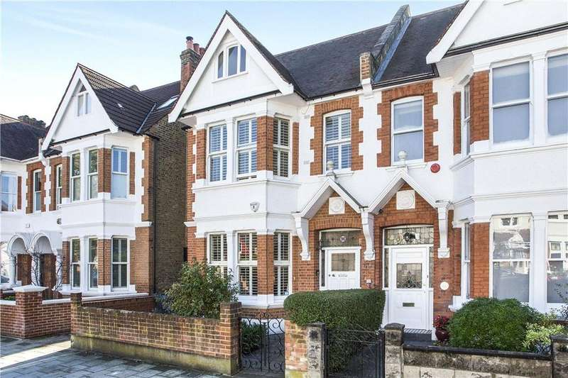5 Bedrooms Semi Detached House for sale in Wavendon Avenue, Chiswick, London, W4