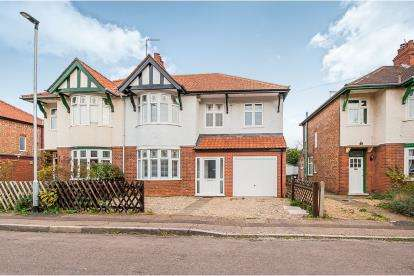 4 Bedrooms Semi Detached House for sale in Woodfield Road, Off Westwood Park Road, Peterborough, Cambridgeshire