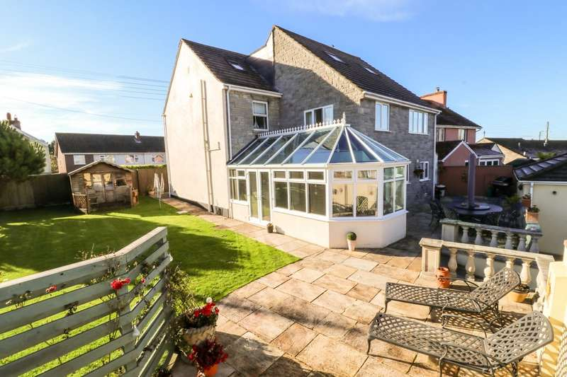 5 Bedrooms Detached House for sale in Middle Leigh, Street