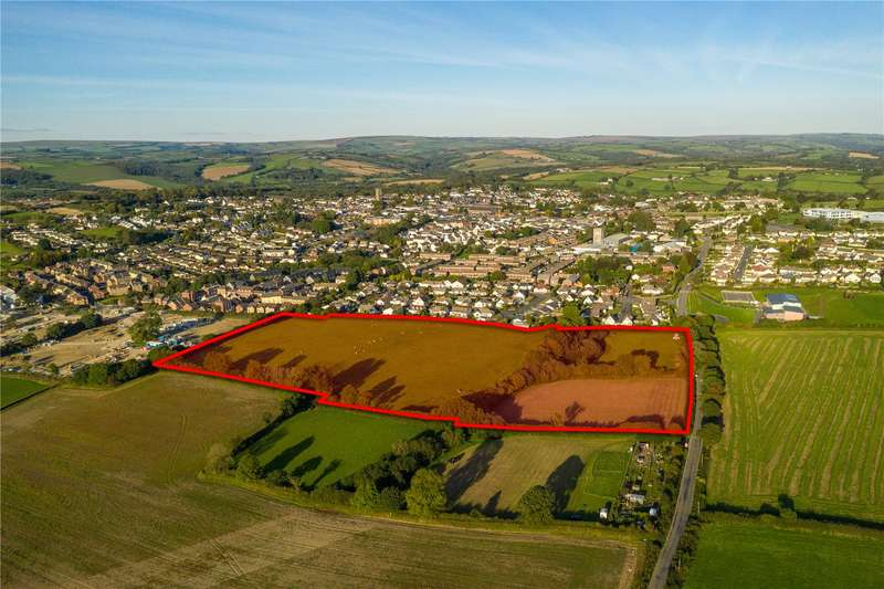 Land Commercial for sale in Land West of Parklands, South Molton, Devon, EX36