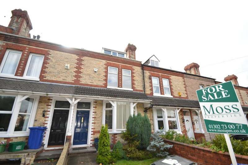 3 Bedrooms Terraced House for sale in Queens Road, Doncaster