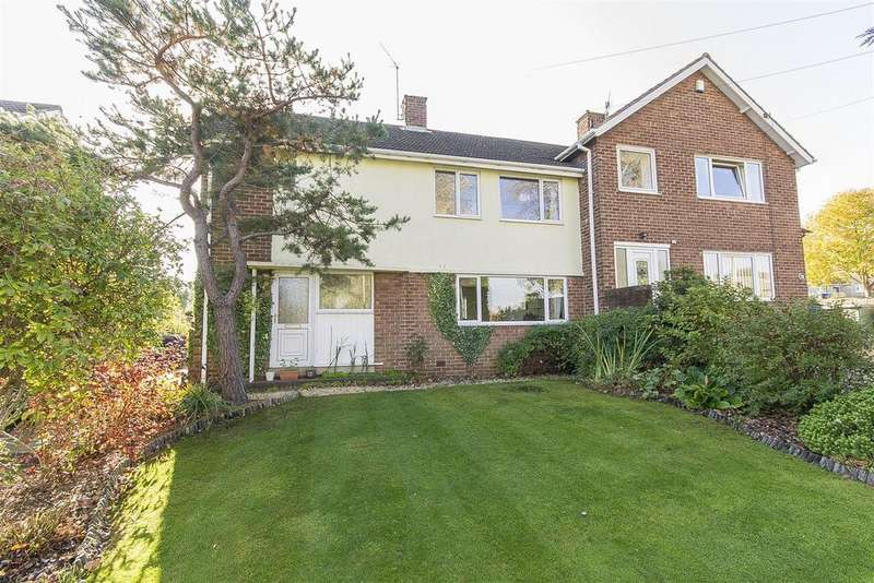 3 Bedrooms Semi Detached House for sale in Cuttholme Road, Loundsley Green, Chesterfield