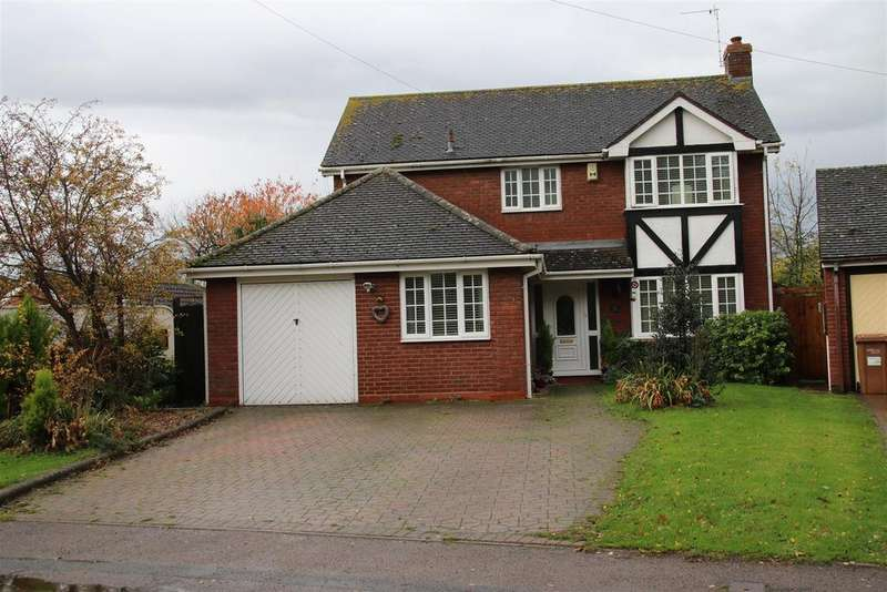 5 Bedrooms Detached House for sale in Croxall Road, Edingale, Tamworth