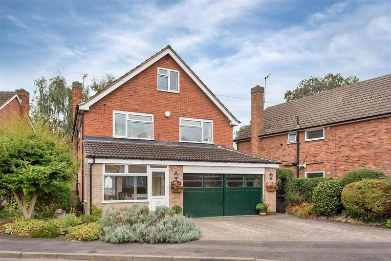 5 Bedrooms Detached House for sale in Grangefields Drive, Rothley, Leicester