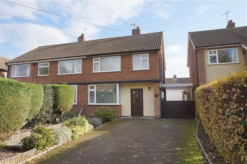 3 Bedrooms Semi Detached House for sale in Park Hill, Gaddesby, Leicester, Leicestershire