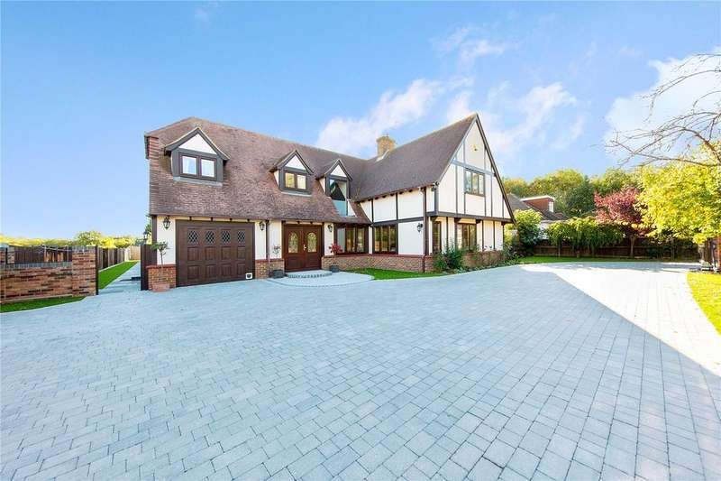 5 Bedrooms Detached House for sale in Burnt Mills Road, Burnt Mills, Essex, SS13