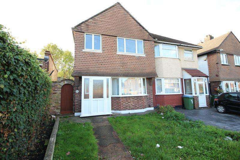 3 Bedrooms Semi Detached House for sale in Sparrows Lane, New Eltham, SE9 2BP