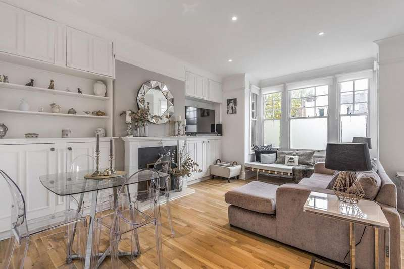 2 Bedrooms Flat for sale in Cavendish Road, Clapham