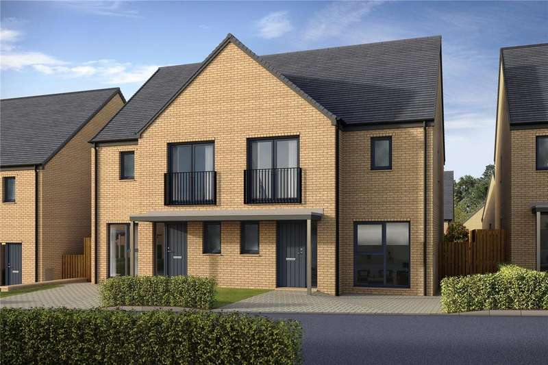 3 Bedrooms Semi Detached House for sale in Manor Wood, Plot 71 - Maple, Old Dalkeith Road, Edmonstone, EH17