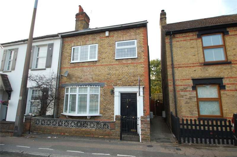 3 Bedrooms Semi Detached House for sale in Abbs Cross Lane, Hornchurch, RM12