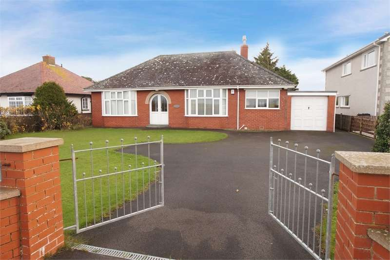 3 Bedrooms Detached Bungalow for sale in CA7 4QF Skinburness Road, Silloth, WIGTON, Cumbria
