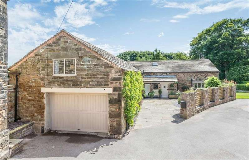 5 Bedrooms Detached House for sale in The Old Barn, 5a, Cross Lane, Coal Aston, Dronfield, Derbyshire, S18