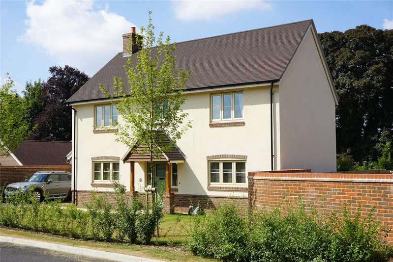 4 Bedrooms Detached House for sale in Fine Acres Rise, Over Wallop, Stockbridge, Hampshire, SO20