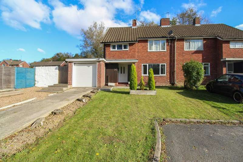 3 Bedrooms Semi Detached House for sale in Nevis Close, Brockwell , Chesterfield