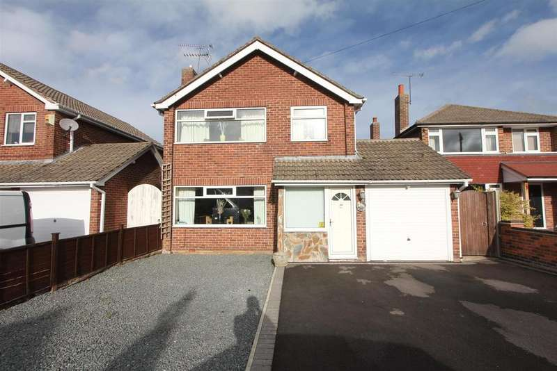 3 Bedrooms Detached House for sale in Mill Close, Sapcote
