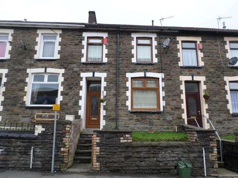 3 Bedrooms Terraced House for sale in Brewery Street, Pontygwaith, Ferndale