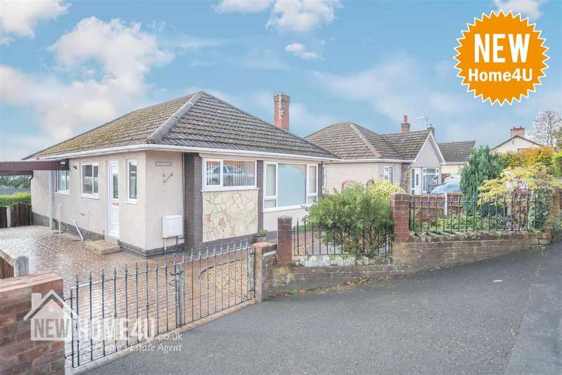 2 Bedrooms Detached Bungalow for sale in Nant Mawr Road, Buckley