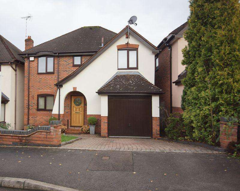 4 Bedrooms Detached House for sale in Nortune Close, Birmingham, B38 8AJ