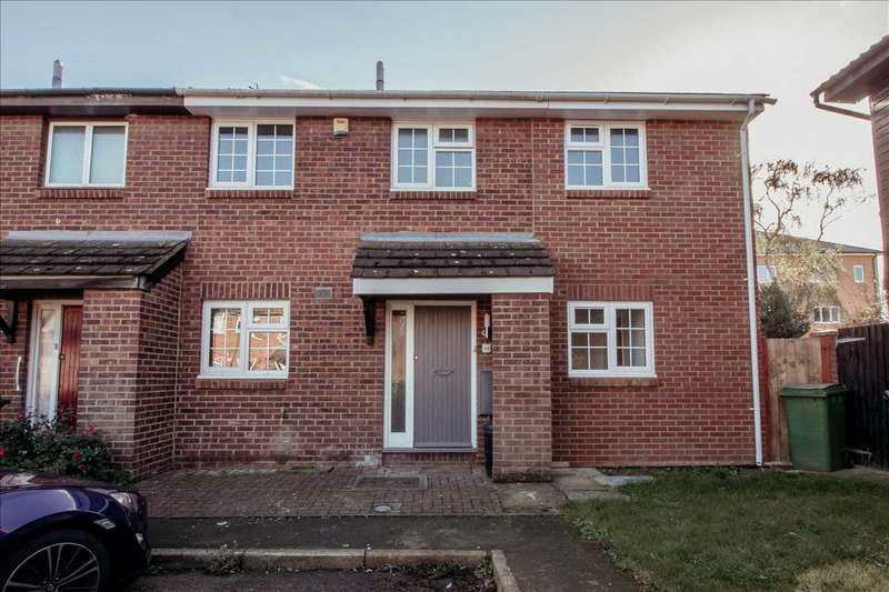 4 Bedrooms End Of Terrace House for sale in Lagonda Close, Newport Pagnell, Milton Keynes