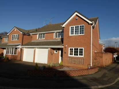 4 Bedrooms Detached House for sale in Fountains Place, Eye