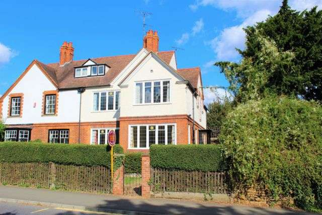 4 Bedrooms Semi Detached House for sale in Main Road, Duston Village, Northampton NN5 6JN