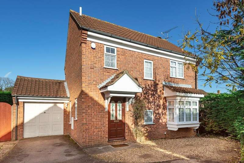 3 Bedrooms Detached House for sale in Milverton Green, Luton, LU3